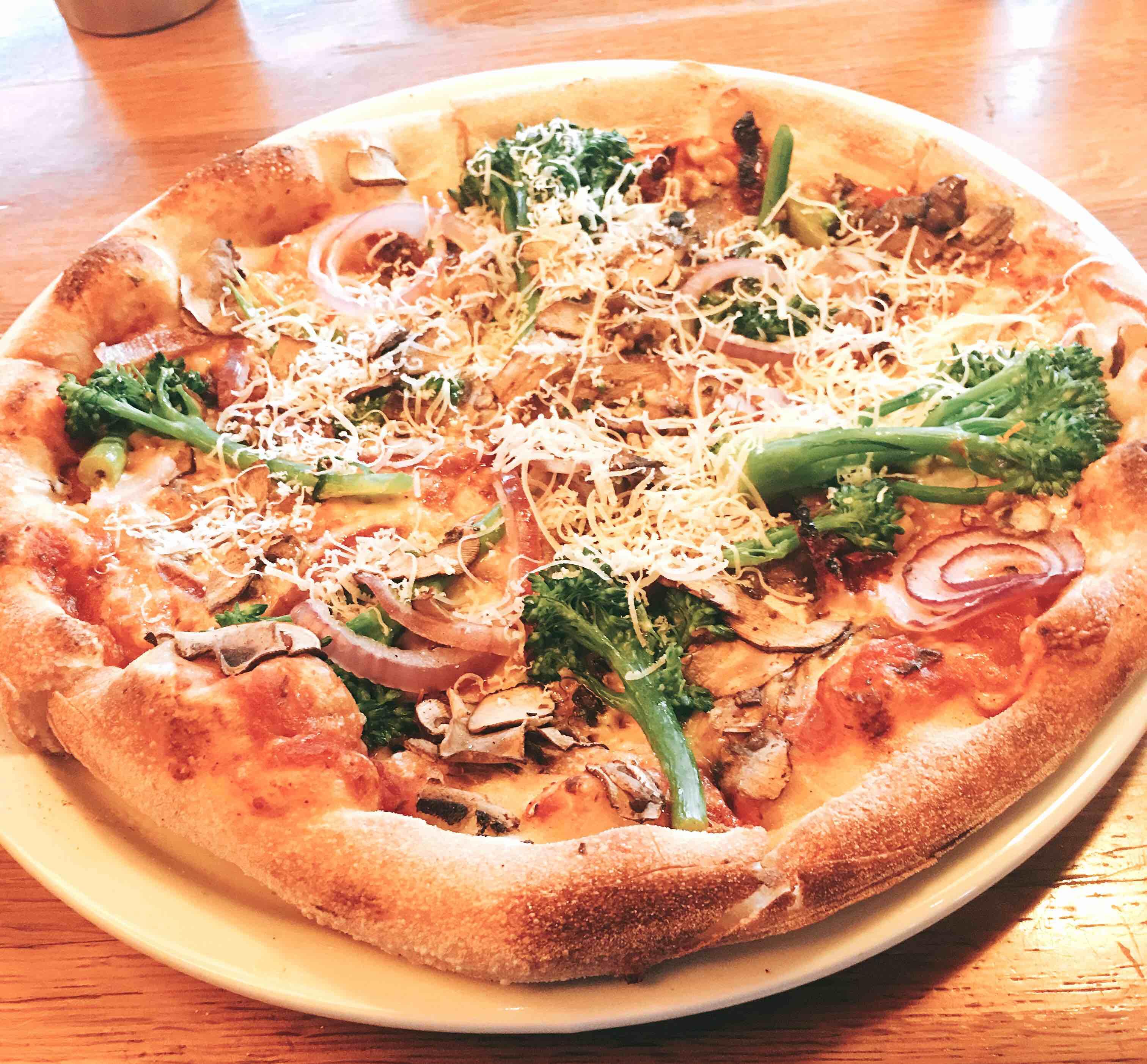 California Pizza Kitchen Pizza Size | Veggie Pizza California Pizza Kitchen Eats For Me