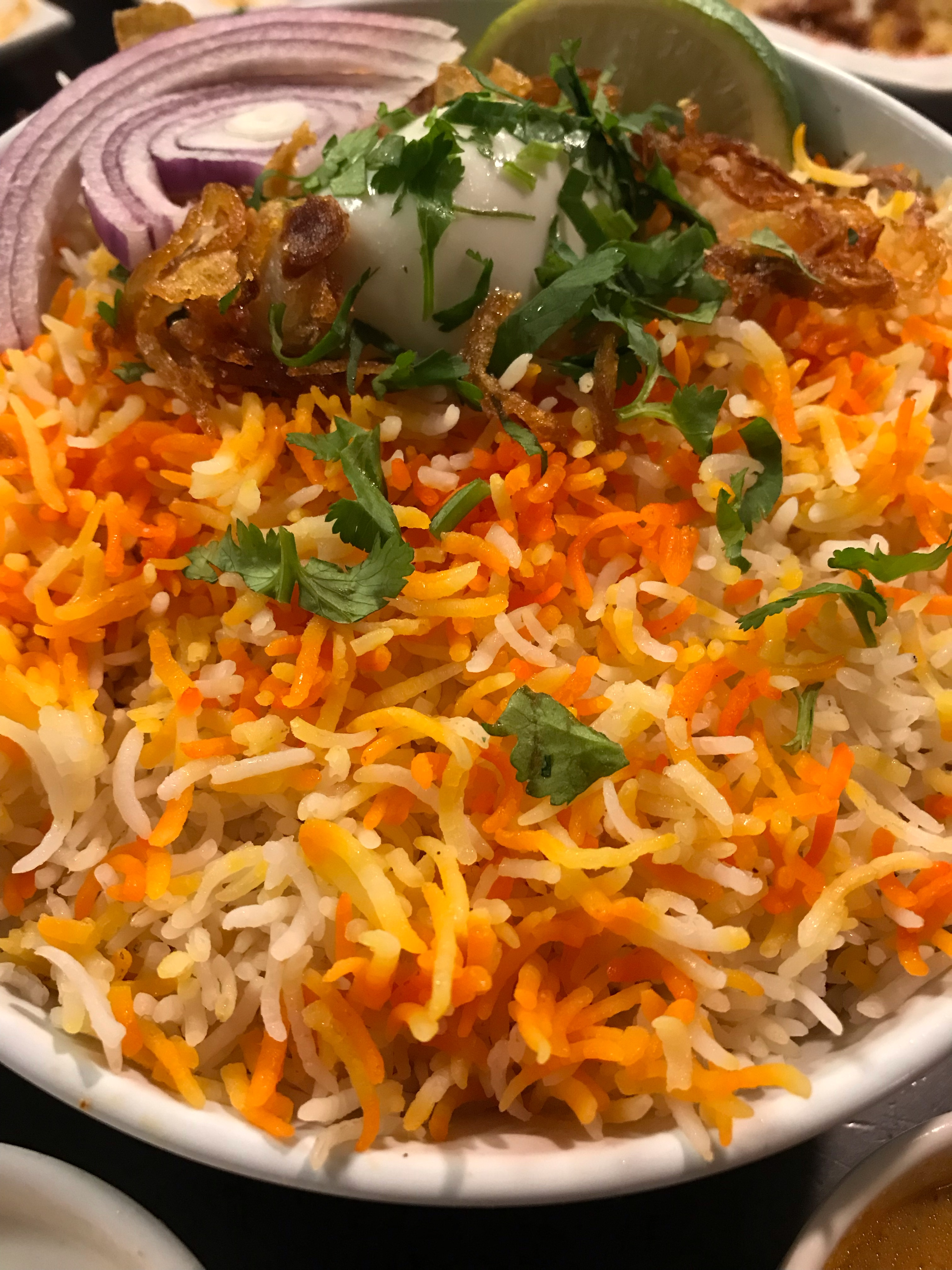 Chicken Dum Biryani Paradise Biryani Pointe Eats For Me Also recommended chicken 65, cooked al dente and just the right level of spicy. eats for me